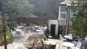St Nectans Glen cafe
