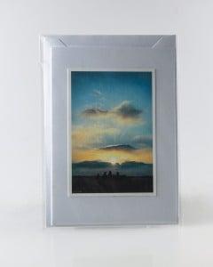 'Ascension' Handmade Art Greeting Card
