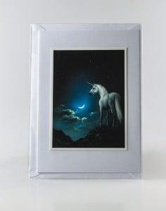 'The Edge of the World' Handmade Art Greeting Card