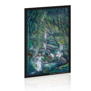Waterfall Triptych - Painting 1