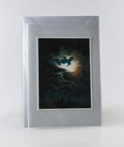 'White Goddess' Handmade Art Greeting Card