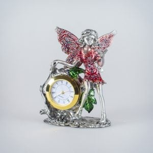 Gold Clock Fairy (Red)