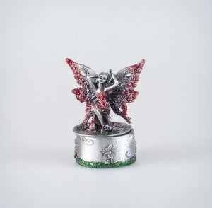 Fairy Trinket Box (Red)