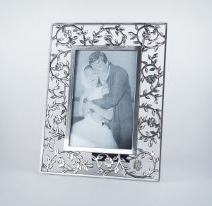 Ornate picture frame with vine surround