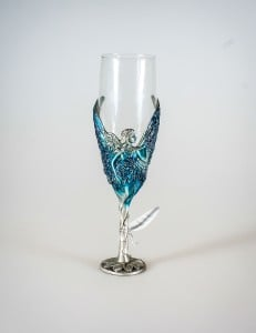 Blue Fairy Goblet