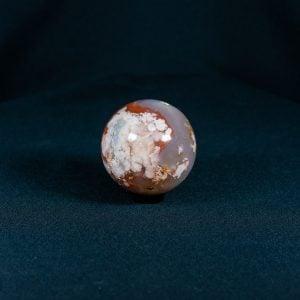 Flower Agate Quartz Sphere - XL