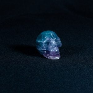 Crystal Skull Mini – Fluorite