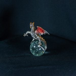 Red/Gold Dragon on Crystal Ball 2