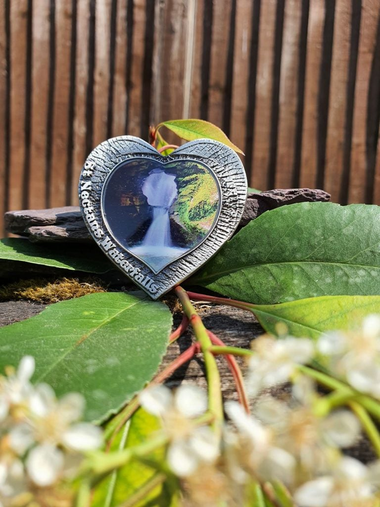 Waterfall Heart Shaped Magnet