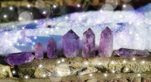 Amethyst - Single Point Crystal (up to 25g)