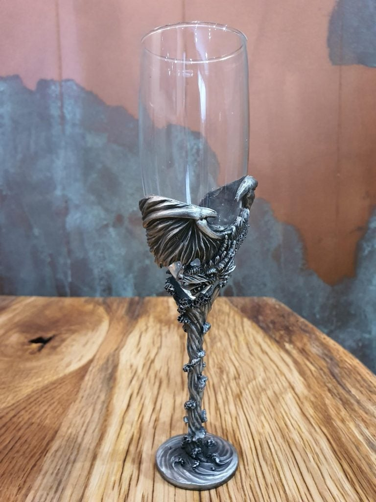 Dragon Claw Champagne Flute - Single Glass