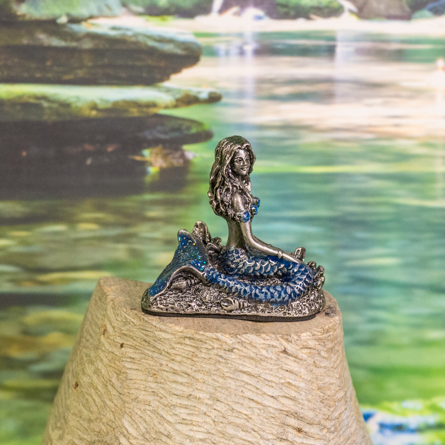 Birthstone Mermaid - December